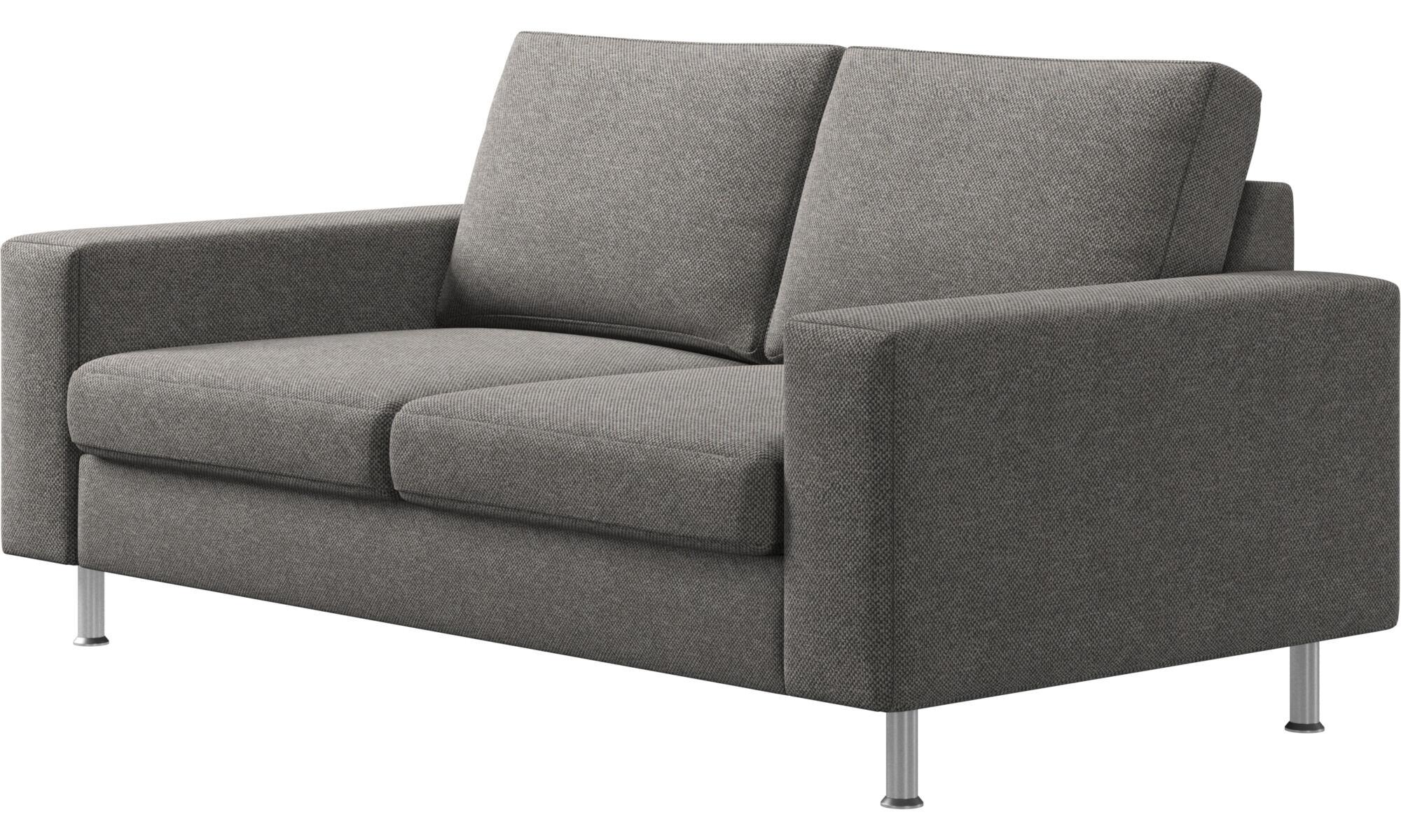 ... 2 Sitzer Sofas   Indivi Sofa   Grau   Stoff ...