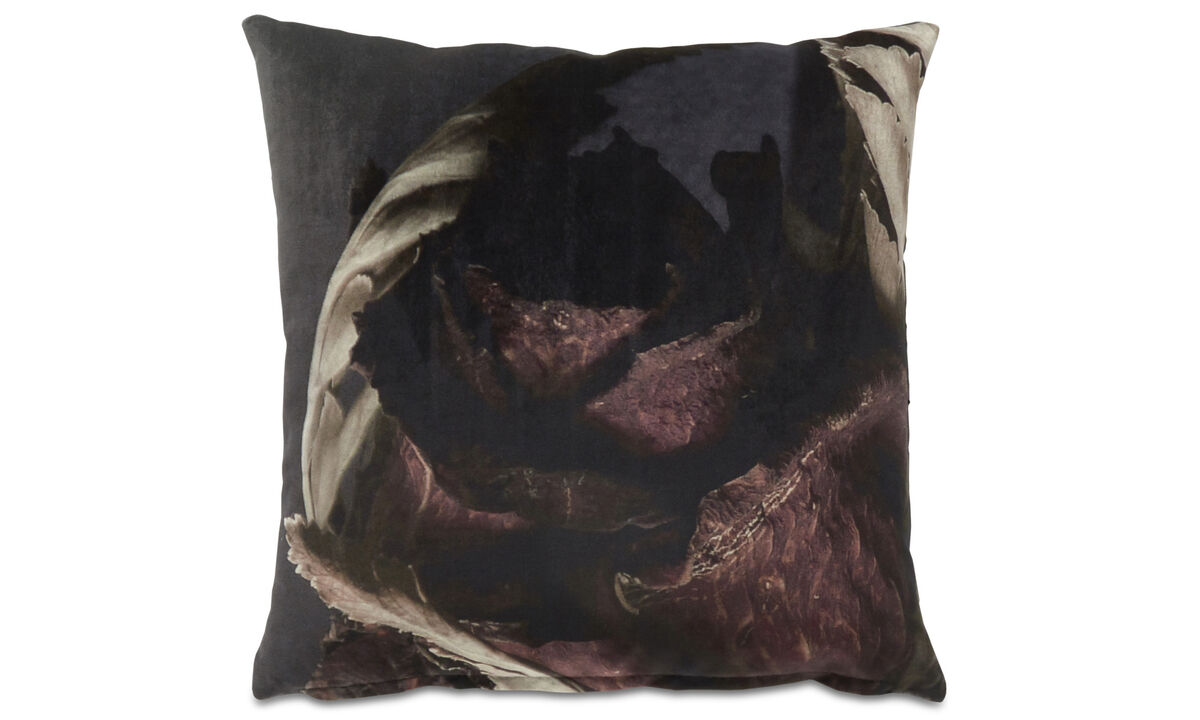 Patterned cushions - Dark wonder cushion - Purple - Fabric
