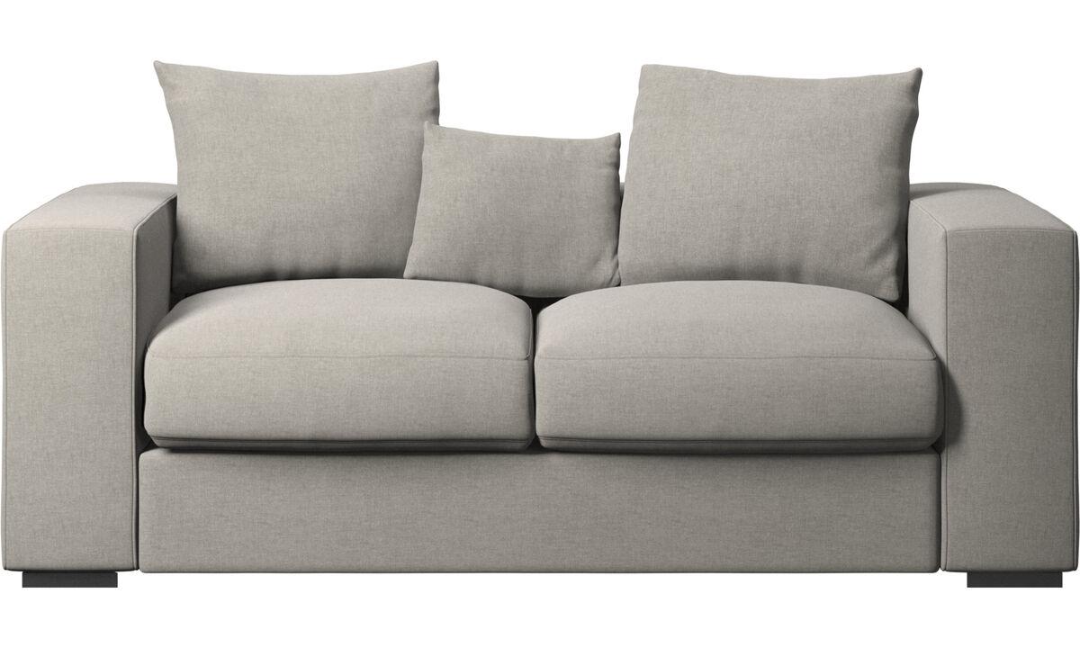 2 personers sofaer design fra boconcept. Black Bedroom Furniture Sets. Home Design Ideas