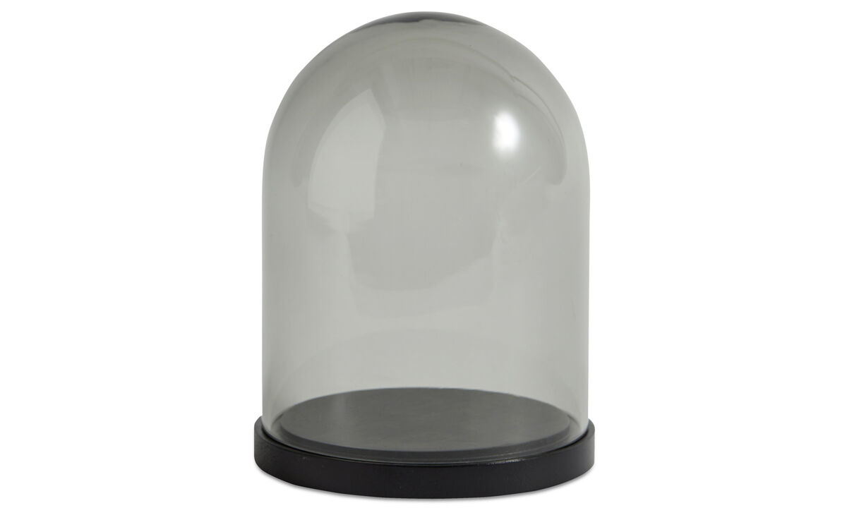 Decoration - Bell glass bell - Grey - Glass