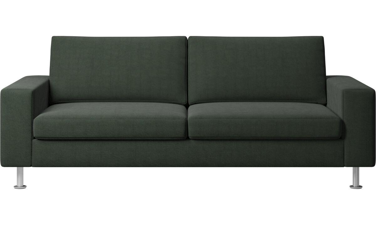 Sofás cama - Sofá-cama Indivi - Verde - Tecido