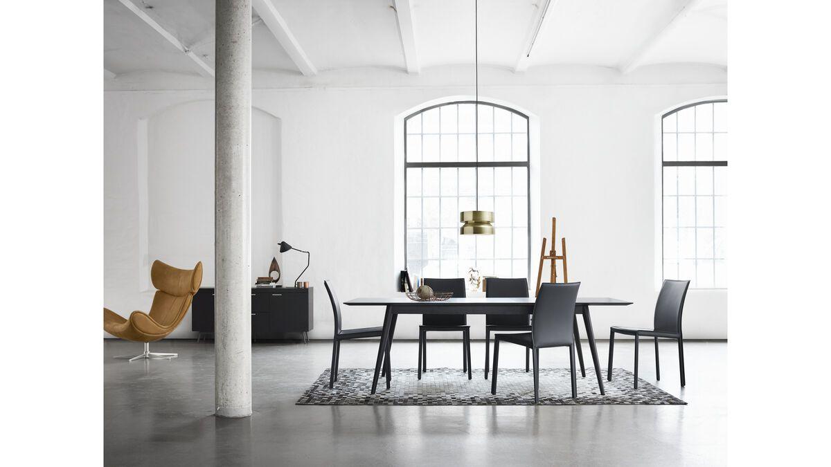 esstische milano tisch boconcept. Black Bedroom Furniture Sets. Home Design Ideas