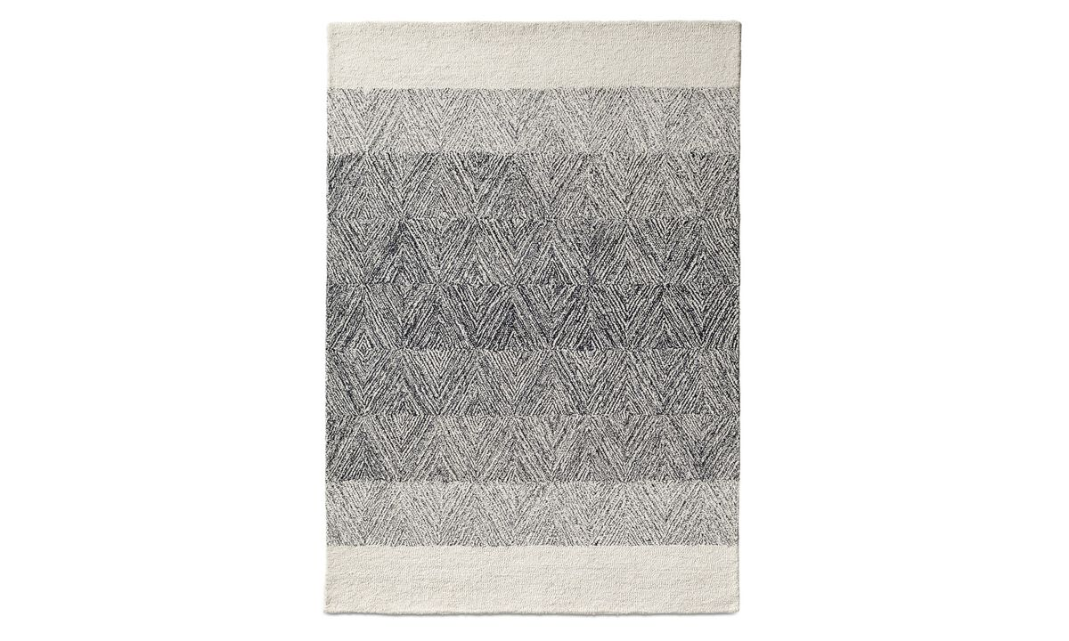 Nye designs - Altinova rug - Blå - Tekstil