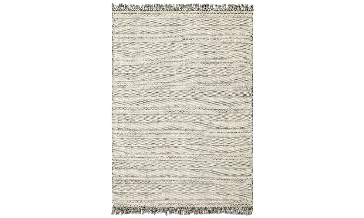 New designs - Zaroj rug - rectangular - Beige - Fabric