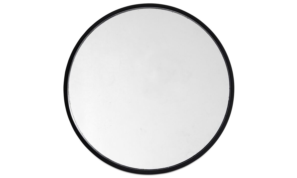 Spiegel - Ring Spiegel - Schwarz - Glas