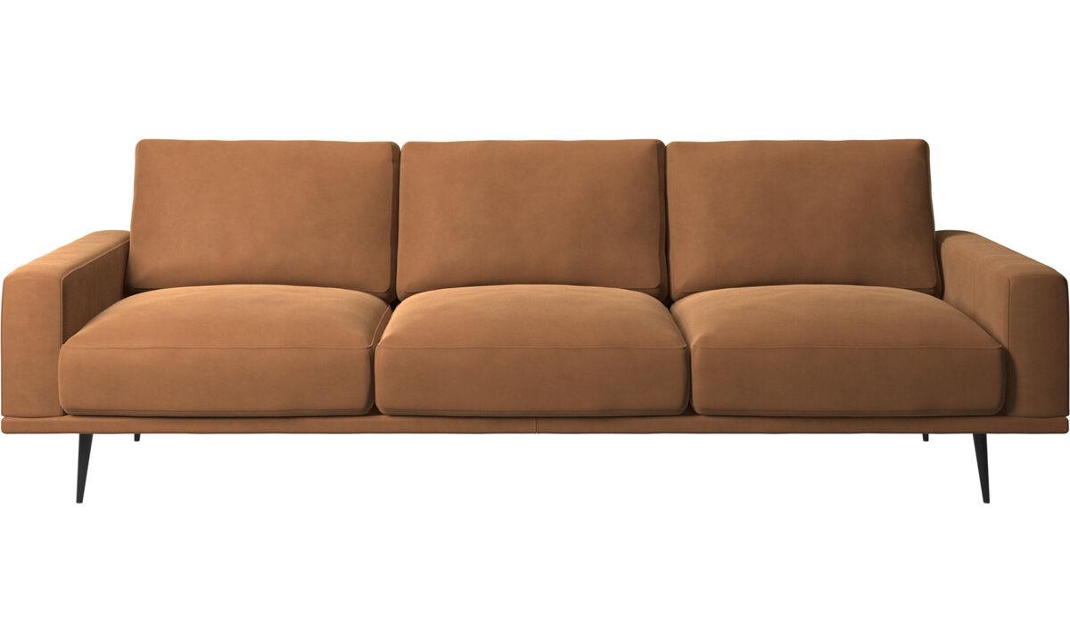 3-sitzer Sofas - Carlton Sofa - Braun - Leder