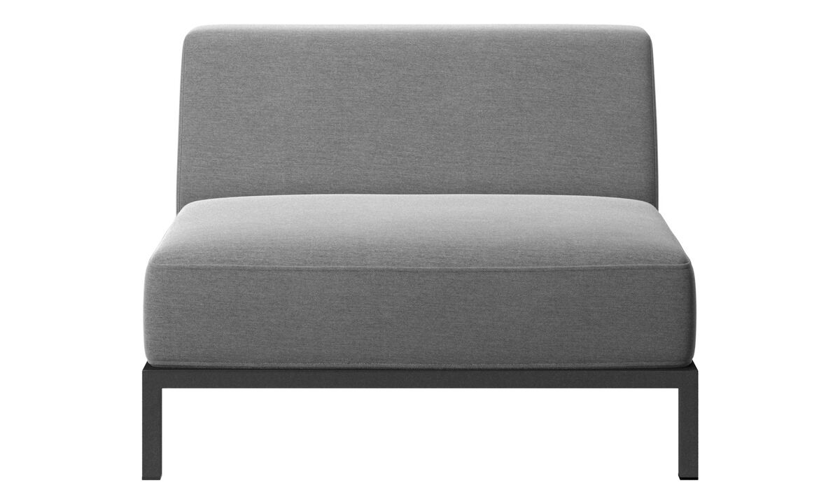 Outdoor Sofas - Rome outdoor sofa - Grey - Fabric