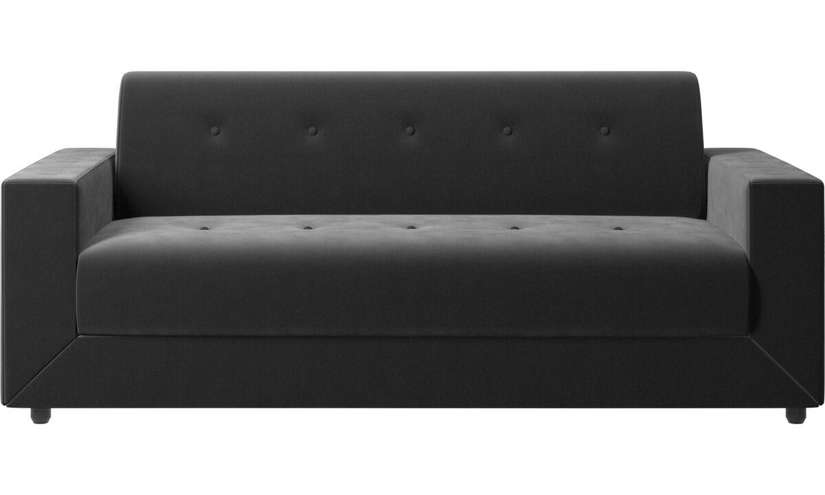 Sofa beds - Stockholm sofa bed - Black - Fabric