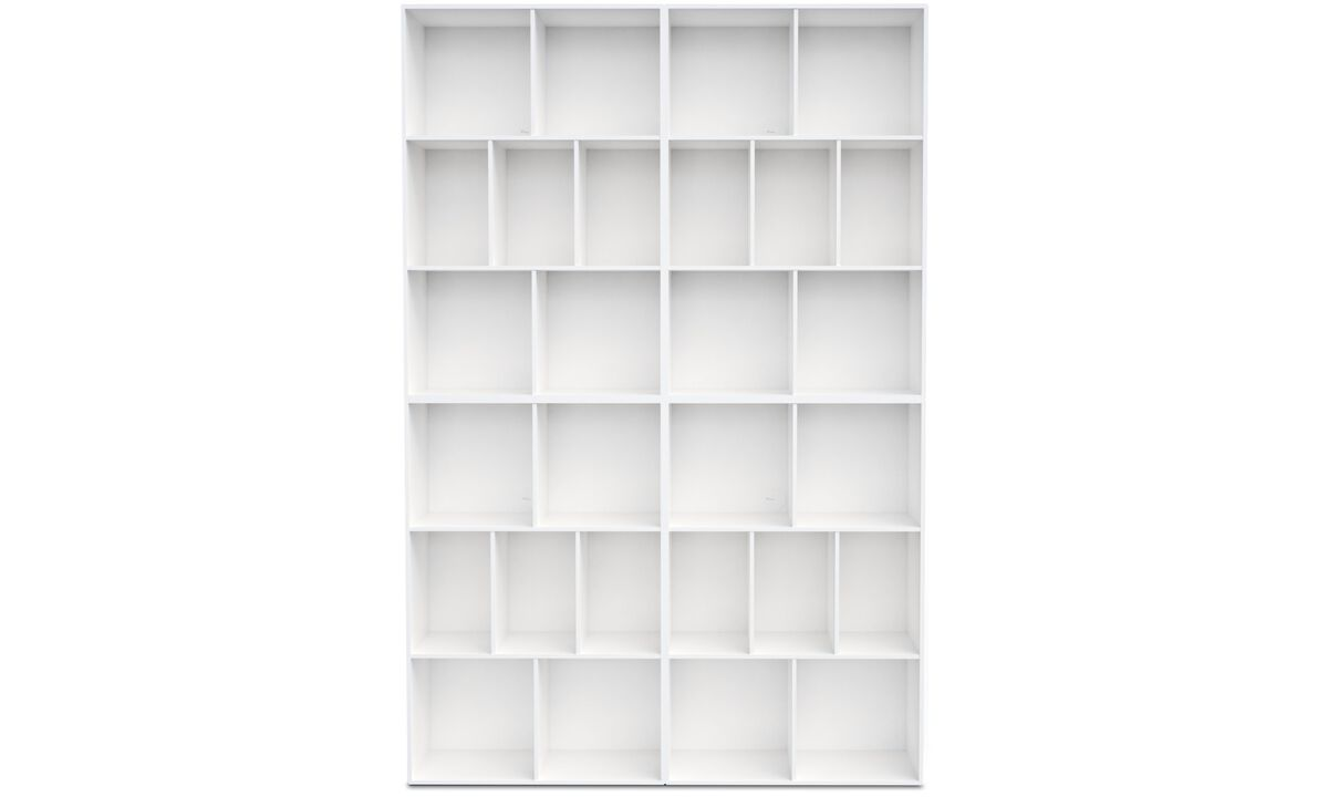 Bookcases & shelves - Como wall system - White - Lacquered