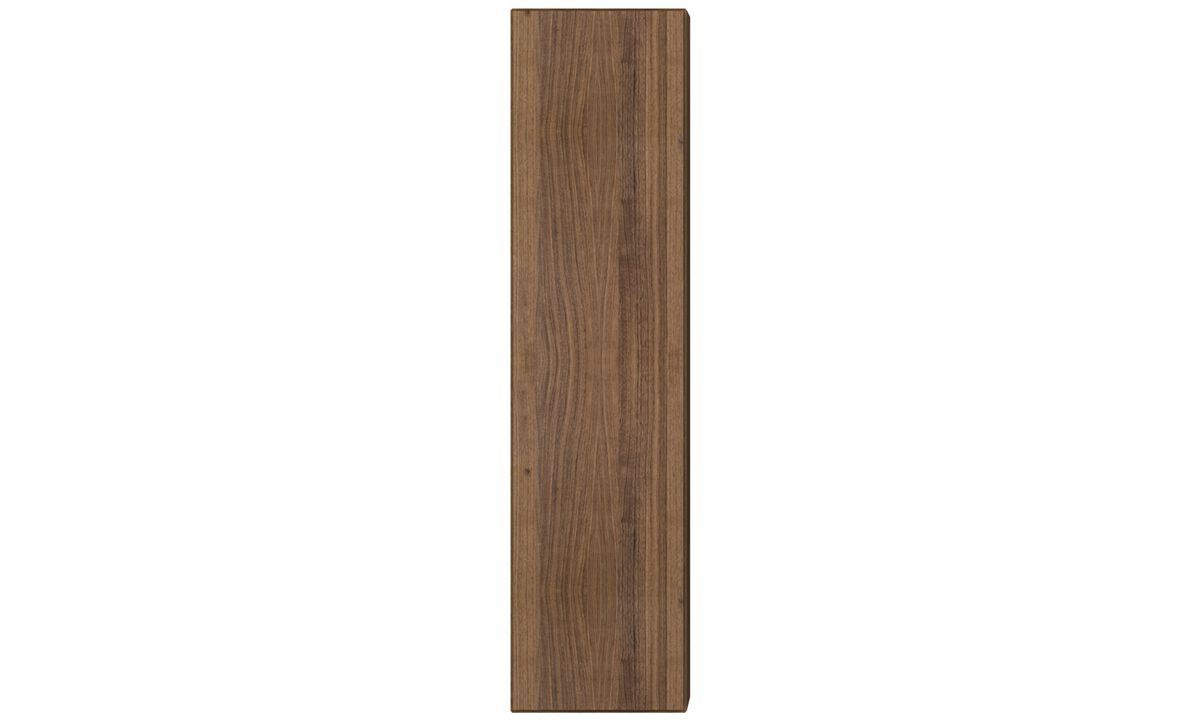 Wall systems - Lugano wall mounted cabinet - Brown - Walnut