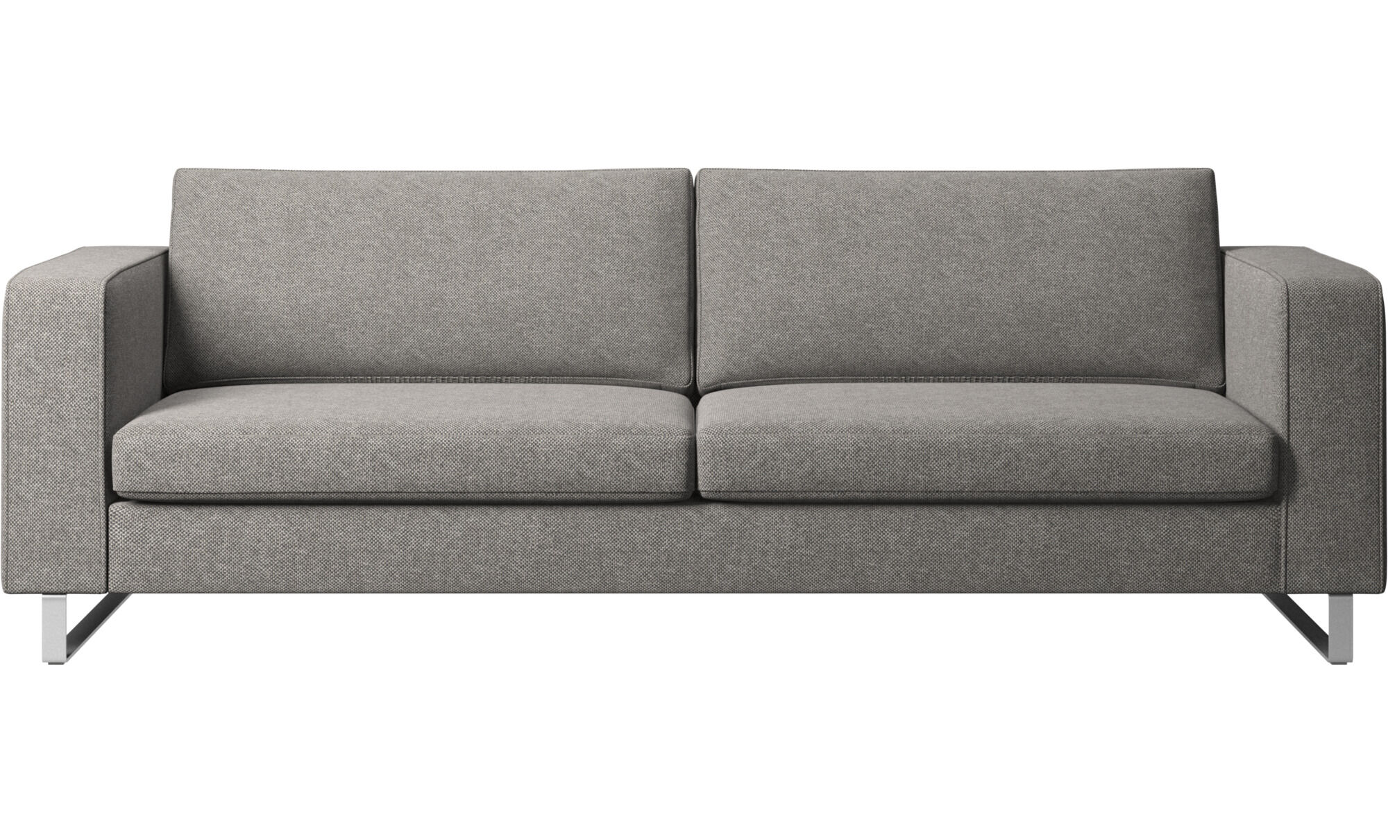 Delicieux 3 Seater Sofas   Indivi 2 Sofa   Gray   Fabric