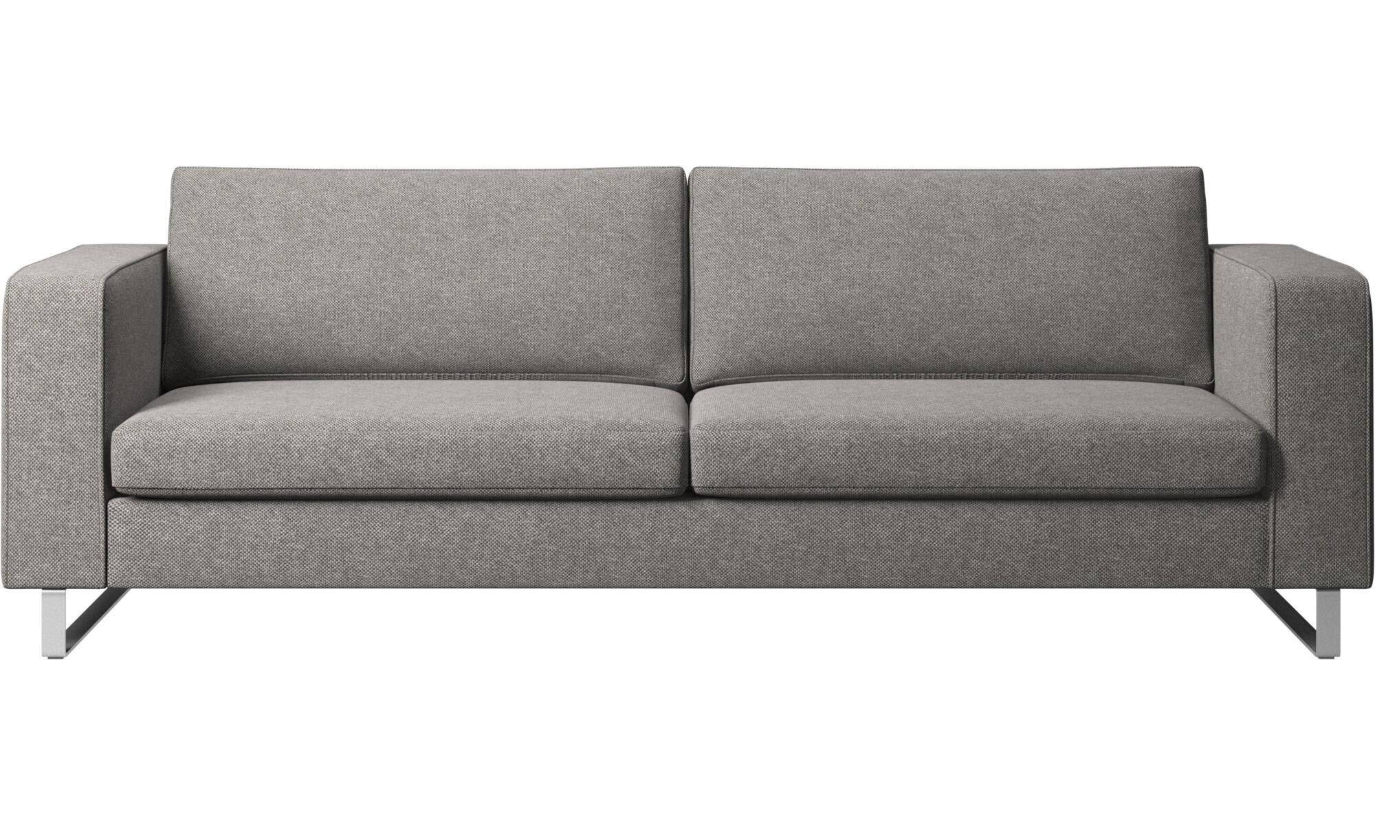 3 Seater Sofas   Indivi 2 Sofa   Gray   Fabric ...