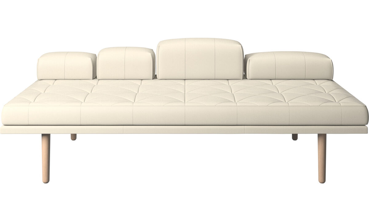 New designs - fusion day bed - White - Leather