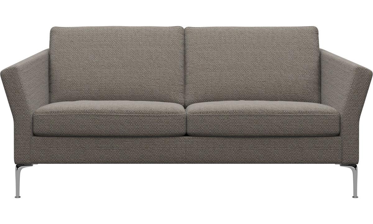 2.5 seater sofas - Marseille sofa - Brown - Fabric
