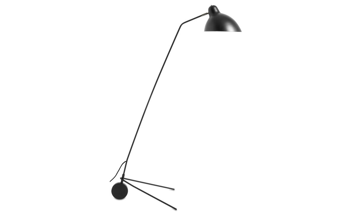 Lamps - Demand floor lamp - Black - Metal
