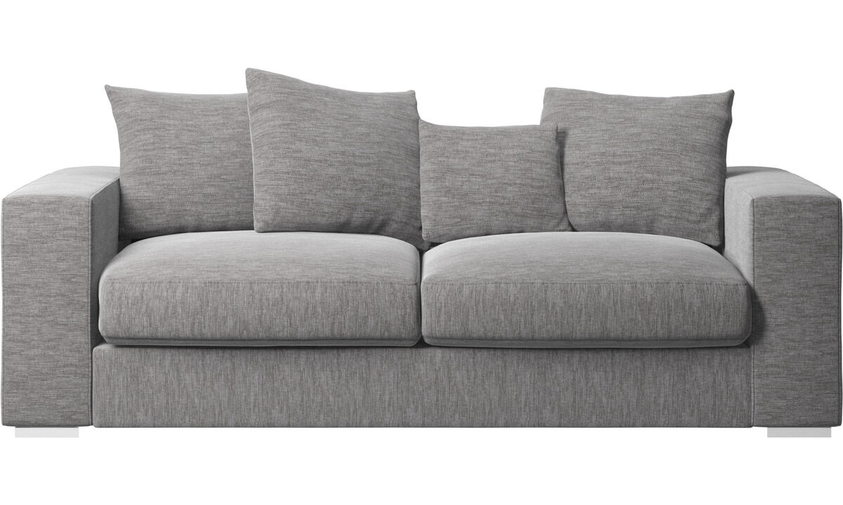 2.5 seater sofas - Cenova sofa - Grey - Fabric