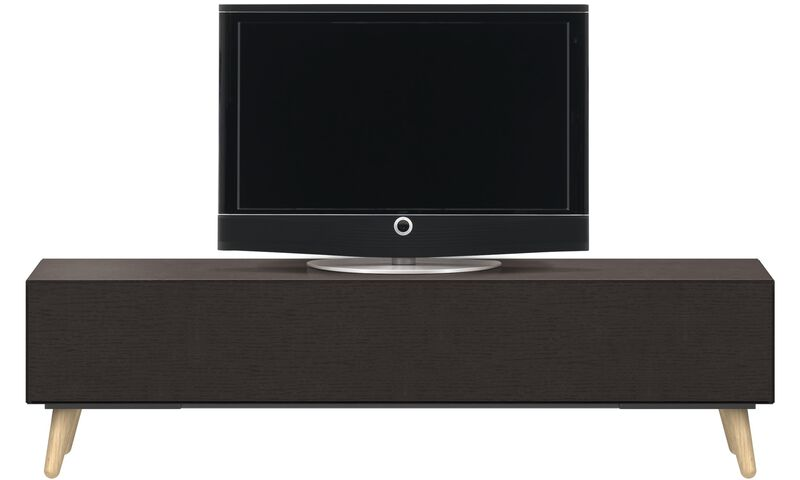 tv units lugano media unit with drawer boconcept. Black Bedroom Furniture Sets. Home Design Ideas