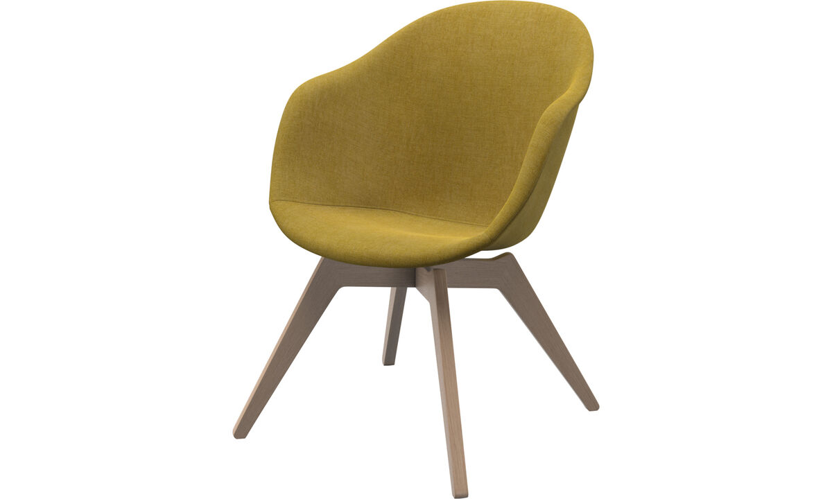 Sillones - silla Adelaide lounge - En amarillo - Tela