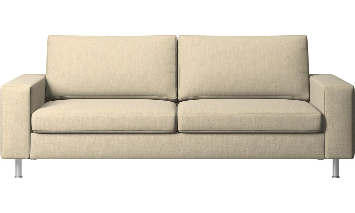 2.5 seater sofas - Indivi sofa - Brown - Fabric