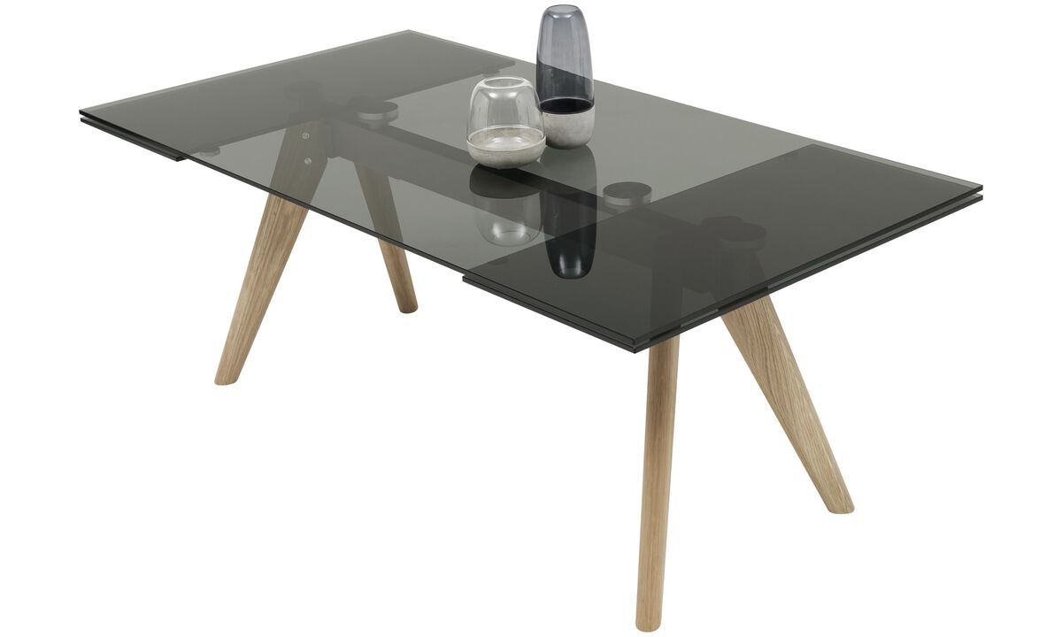 Dining Tables Monza Table With Supplementary Tabletops