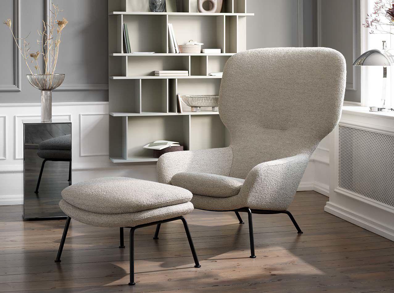 Designs by Henrik Pedersen - Dublin footstool