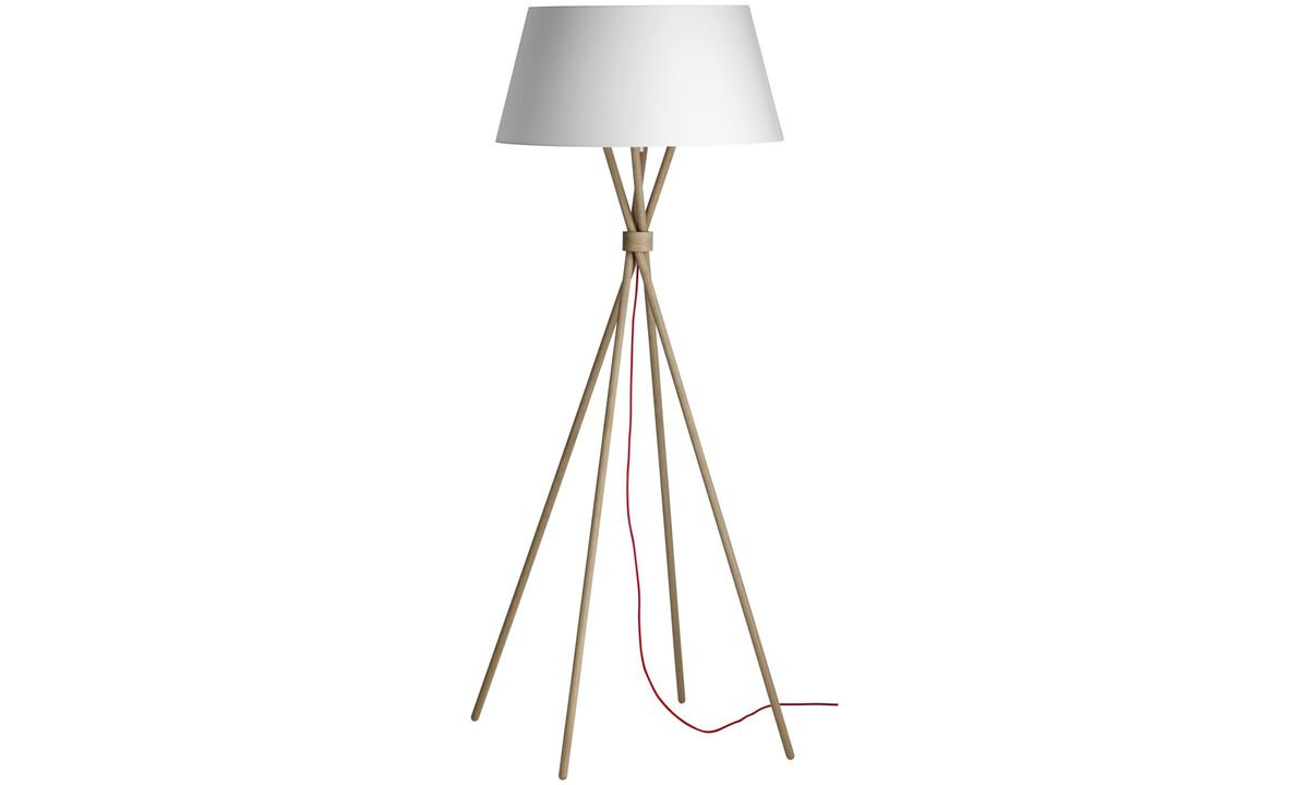 Floor lamps - Main floor lamp - Brown - Oak