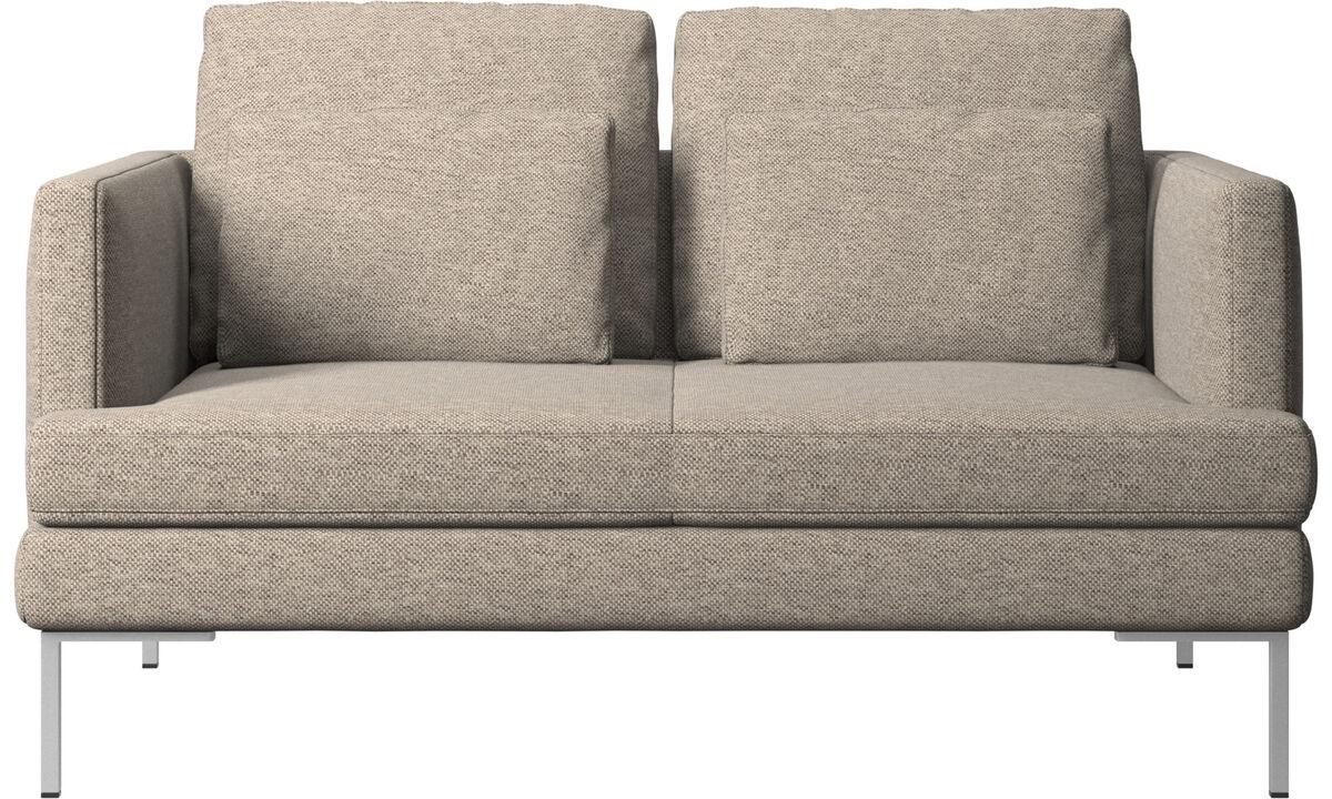 Двухместные диваны - Диван Istra 2 - Бежевого цвета - Tкань