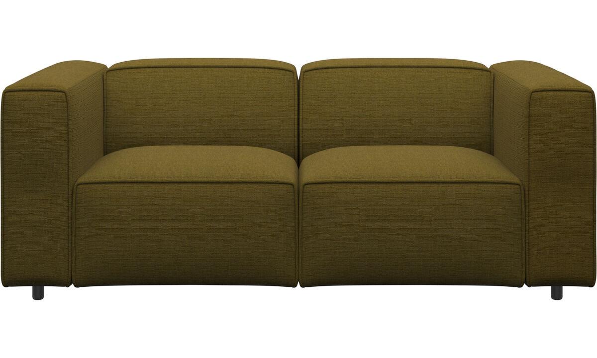 Sofas - Carmo sofa - Yellow - Fabric