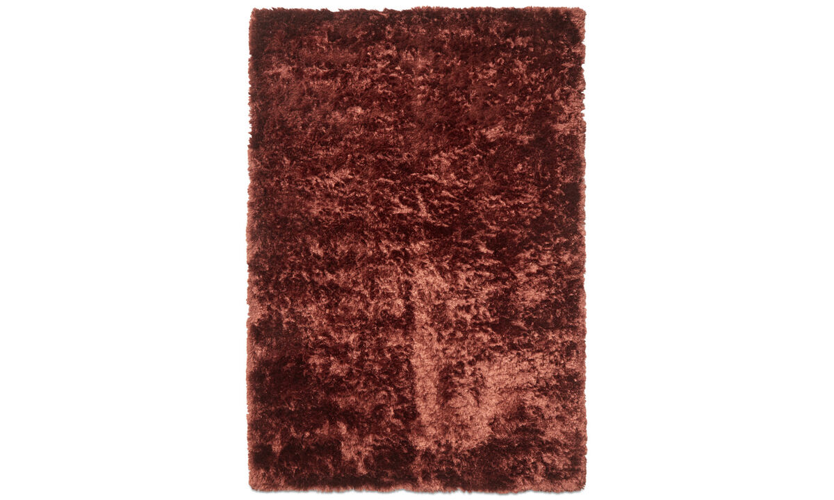 Rectangular rugs - Beijing rug - rectangular - Red - Fabric