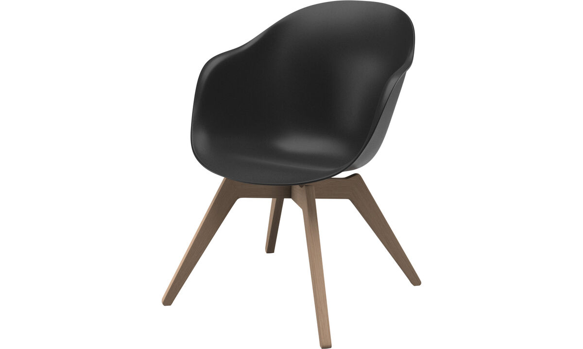 Armchairs - Adelaide lounge chair - Black - Plastic