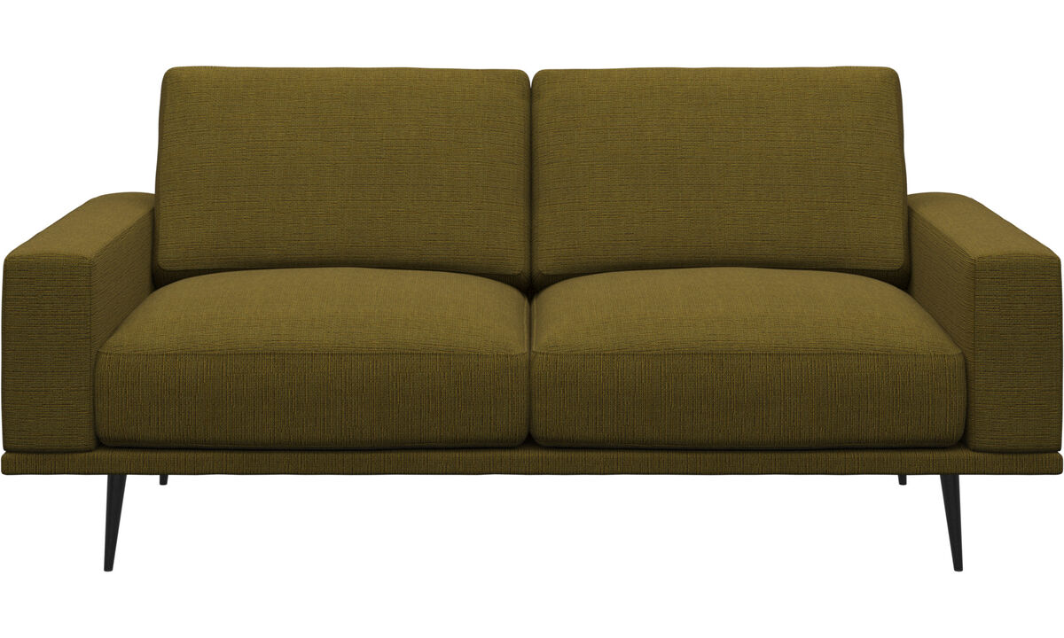 Новый дизайн - Диван Carlton - Желтый цвет - Tкань