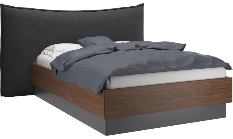 lits lit gent avec rangement int gr sommier inclus hors matelas boconcept. Black Bedroom Furniture Sets. Home Design Ideas
