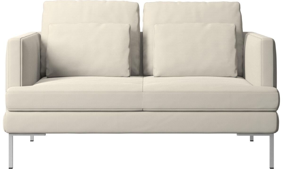 New designs - Istra 2 sofa - White - Fabric