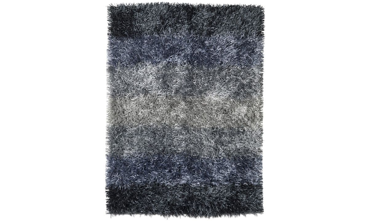 Rectangular rugs - Hyacinth Rug - rectangular - Blue - Fabric