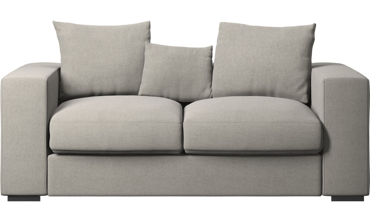 Sofas - Cenova sofa - Grey - Fabric