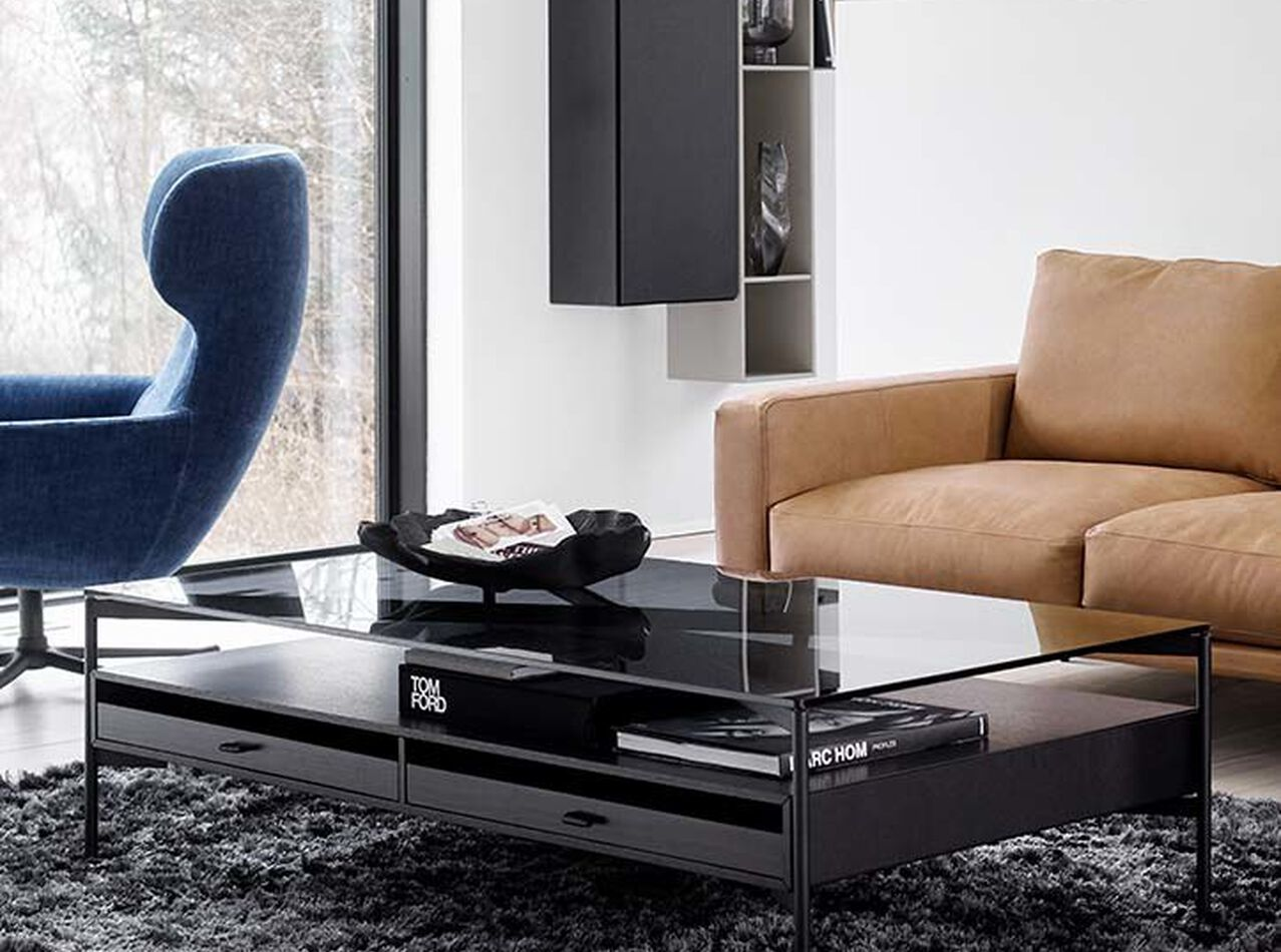 Coffee tables - Los Angeles coffee table with storage - drawers