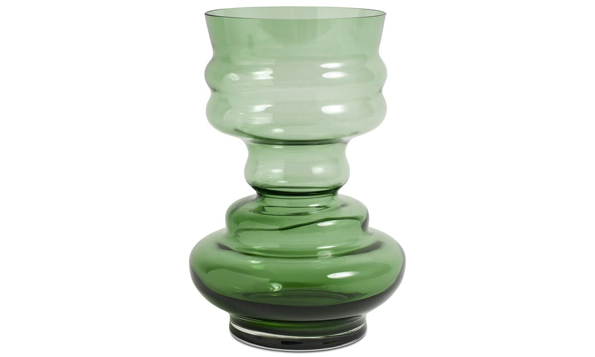 Vases - Viva vase - Green - Glass