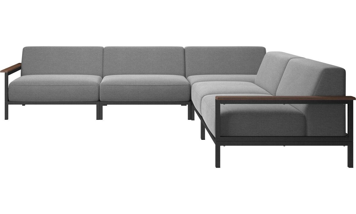 Sofás exteriores - sofa area externa Rome - Cinza - Tecido