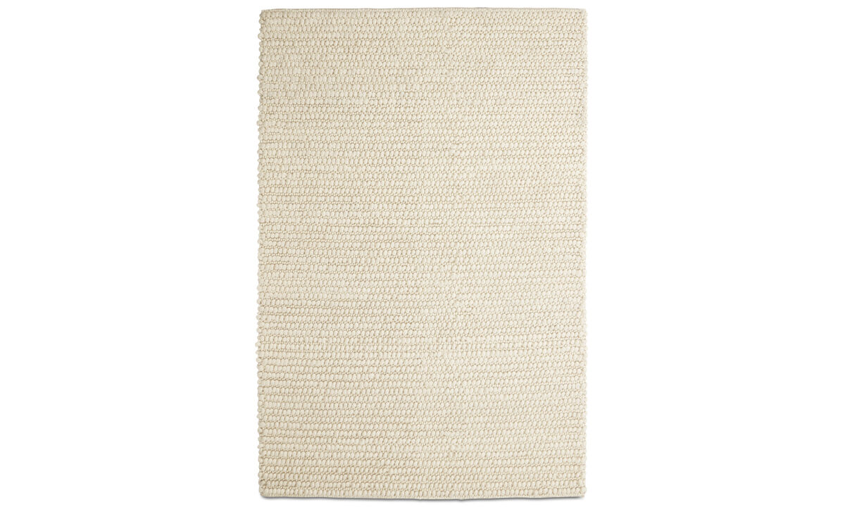 Rectangular rugs - Nordic rug - rectangular - Beige - Wool