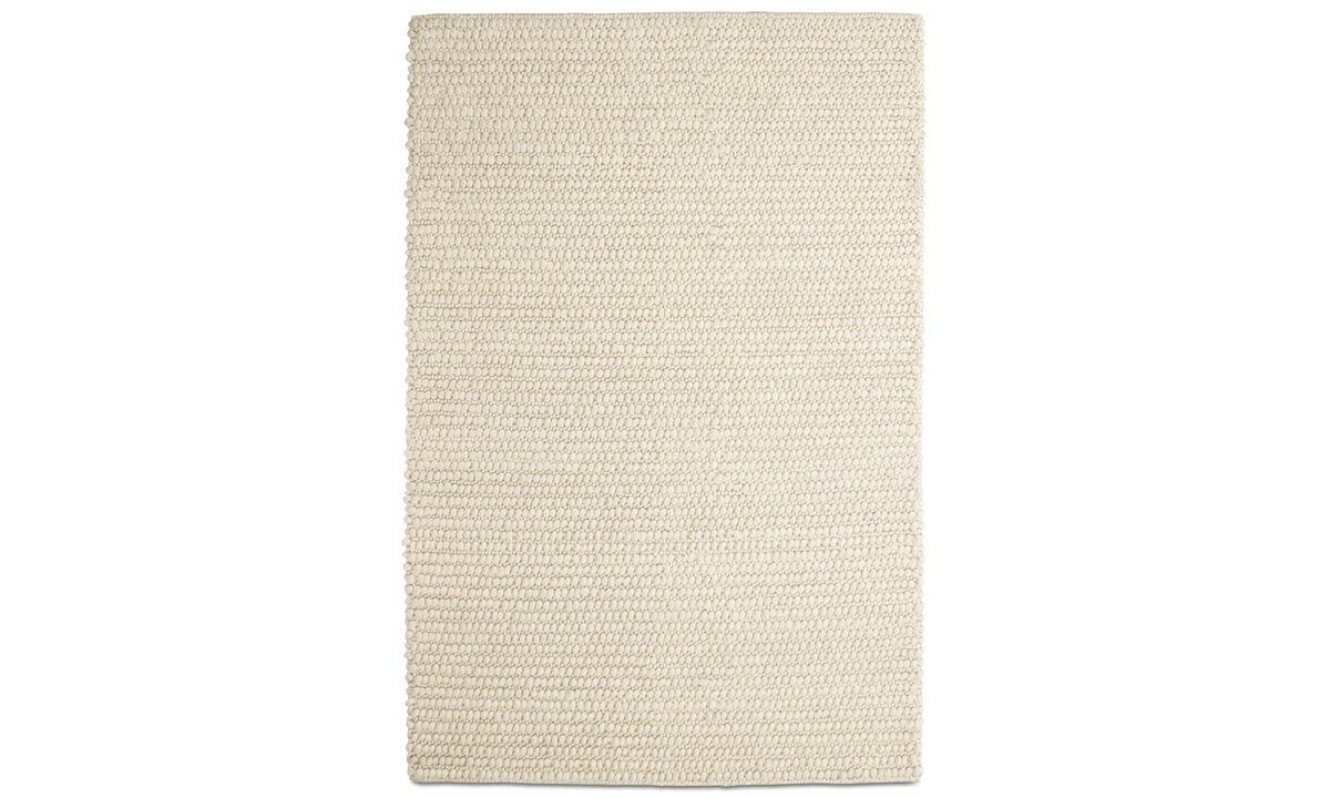 Rechthoekige karpetten - Nordic karpet - rechthoekig - Beige - Wol
