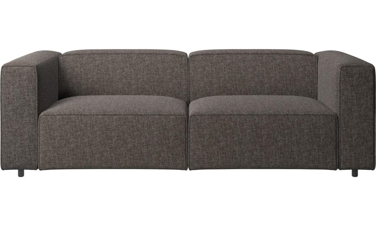 2½ personers sofaer - Carmo sofa - Brun - Stof