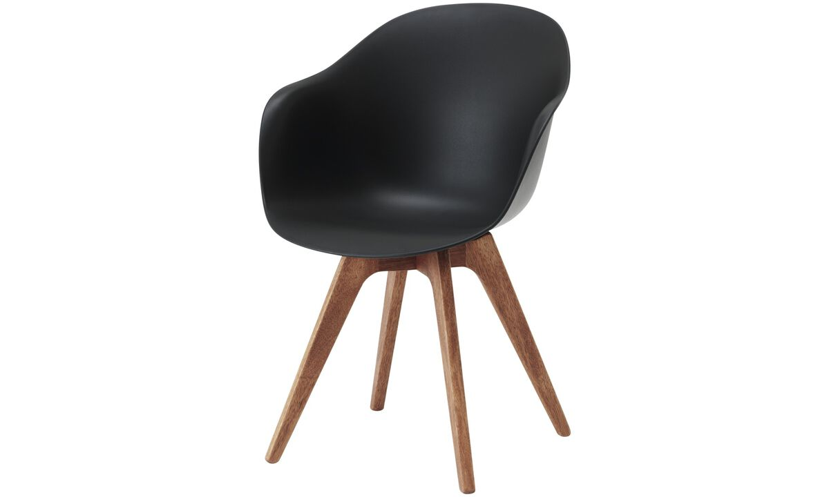 Design furniture in time for Christmas - Adelaide chair (for in and outdoor use) - Black - Plastic