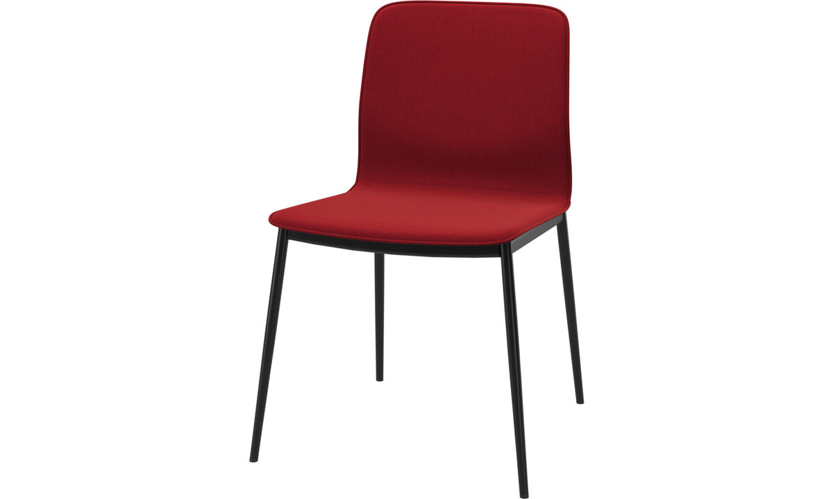Dining chairs - Newport dining chair - Red - Fabric