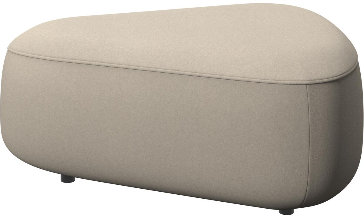Modulære sofaer - Ottawa triangulær puf - Beige - Stof