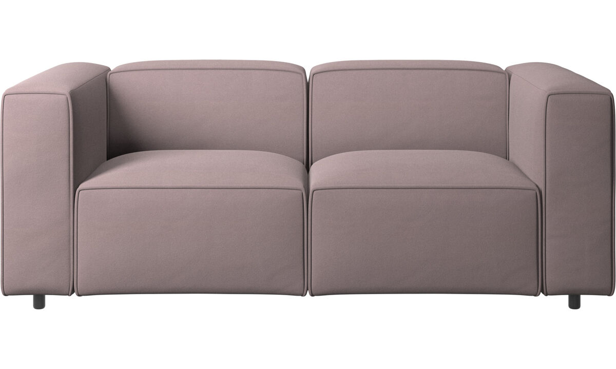 Sofás modulares - sofá Carmo - Morado - Tela