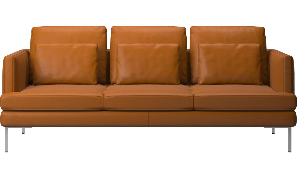 New designs - Istra 2 sofa - Brown - Leather