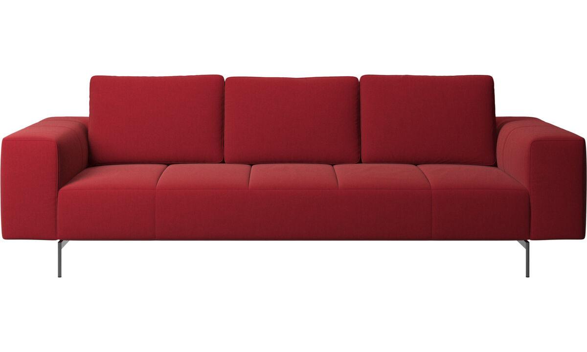 3 seater sofas - Amsterdam sofa - Red - Fabric