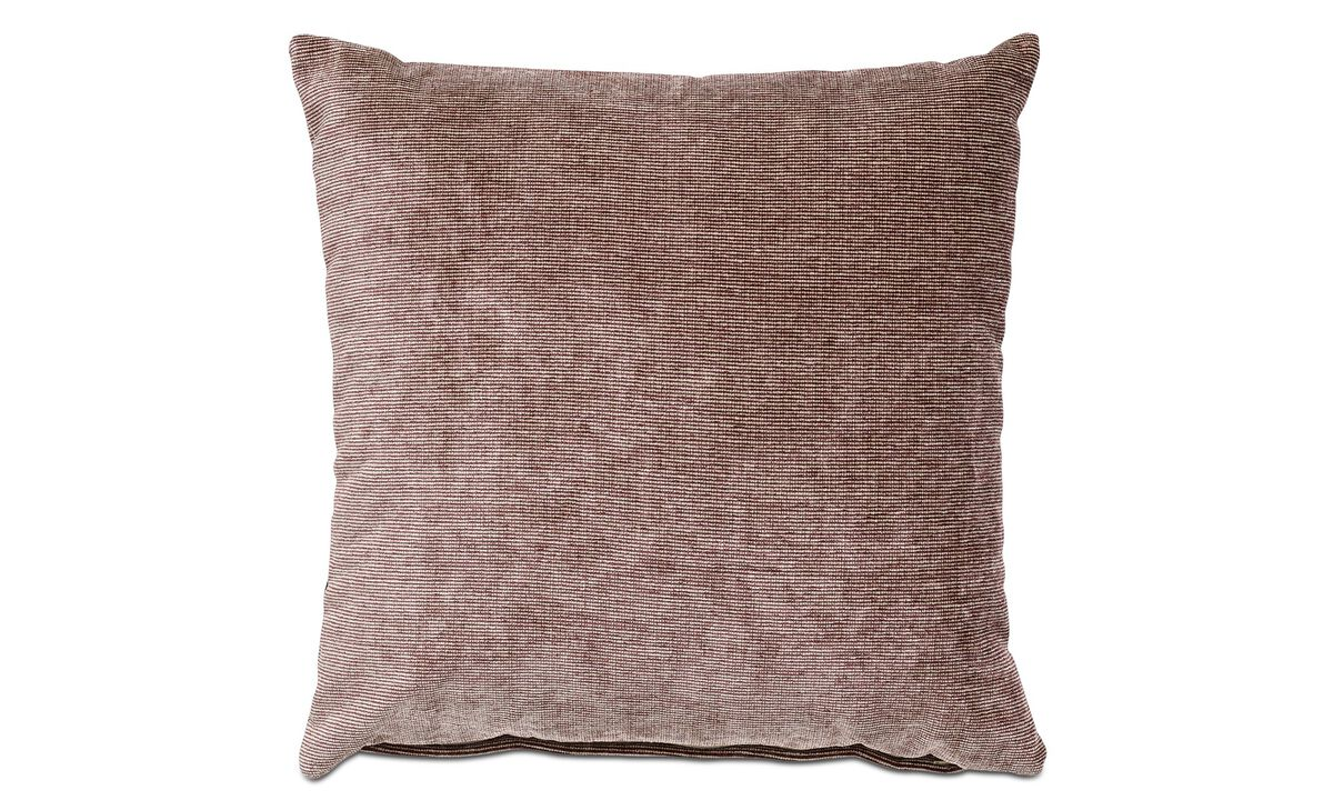 Velvet cushions - Velvet rough cushion - Red - Fabric