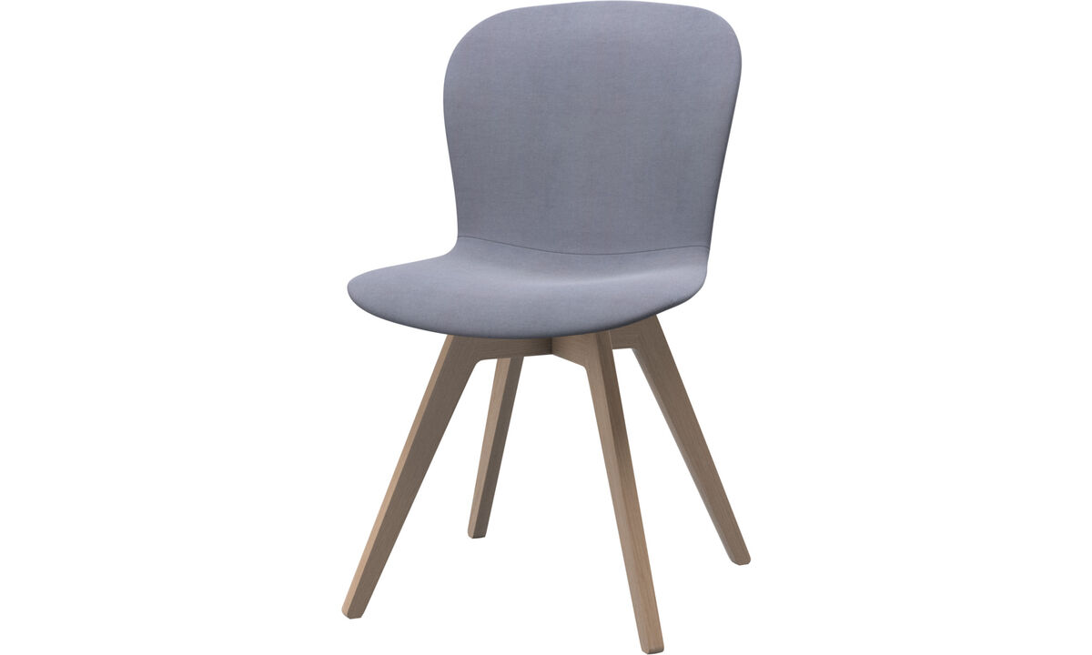 Dining chairs - Adelaide chair - Blue - Fabric