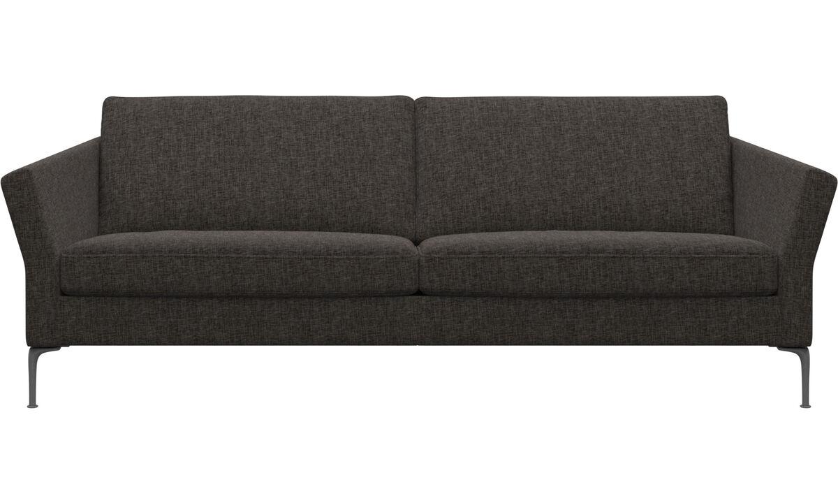 3-sitzer Sofas - Marseille sofa - Braun - Stoff
